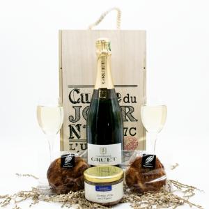 Coffret gastronomique Champagne